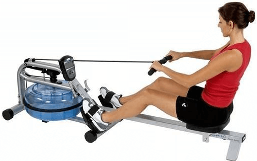 The H2O RX-750 Home Series Rowing Machine from ProRower