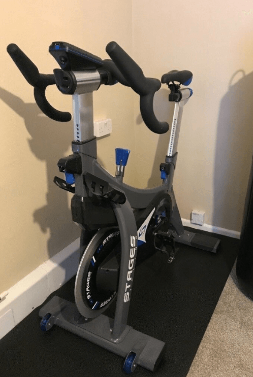 The Stages C3 Indoor Bike is Zwift capable