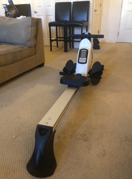 The Avari Magnetic Exercise Rower from Stamina