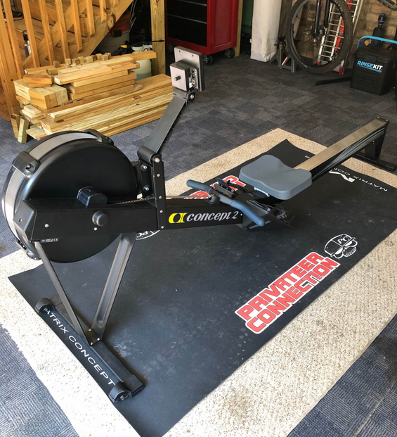 The Concept2 Model-D Rower