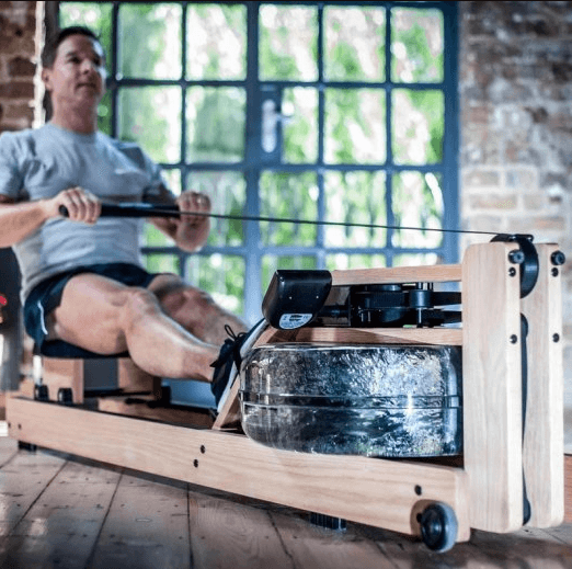 The WaterRower Rowing Machine comes with a S4 Monitor