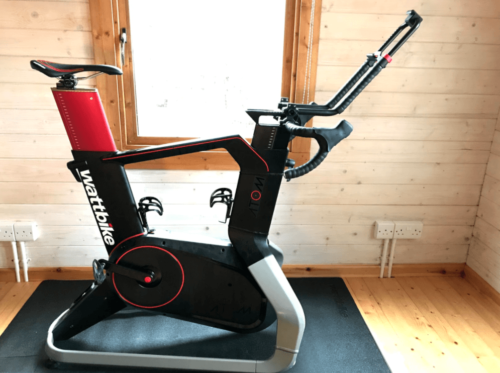The WattBike Atom is fully compatible with Zwift