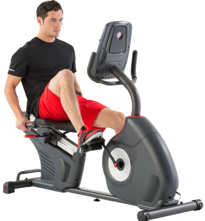 my recommendation is The Schwinn 270 recumbent bike