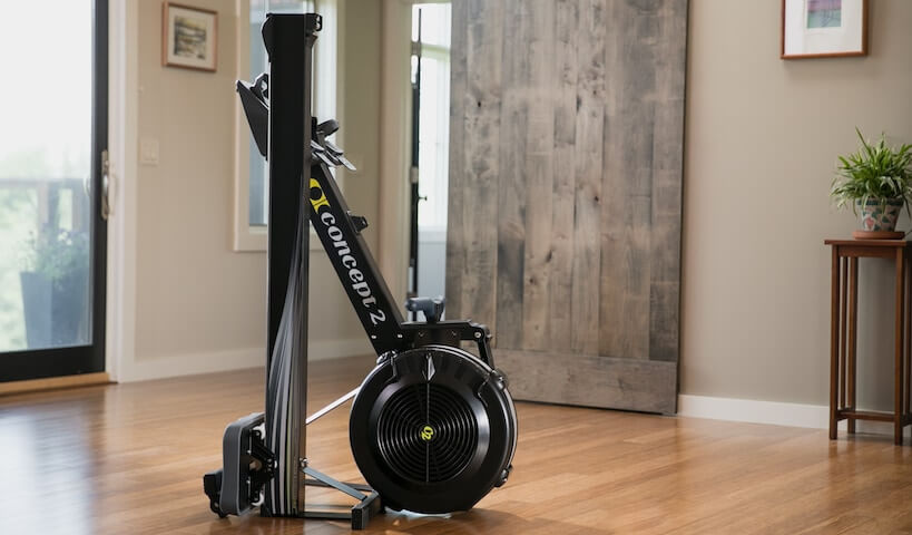 compact heavy duty rowing machine
