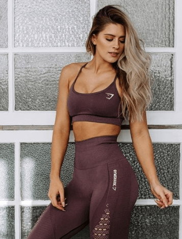 fit gymshark athletic wear