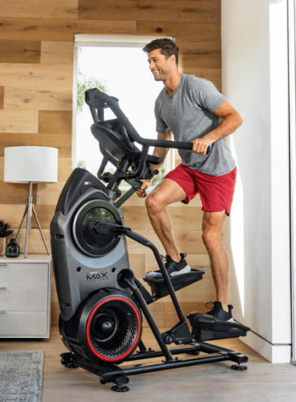 The Bowflex Max Trainer M8 is my choice for the best full-body cardio machine that you can use at home