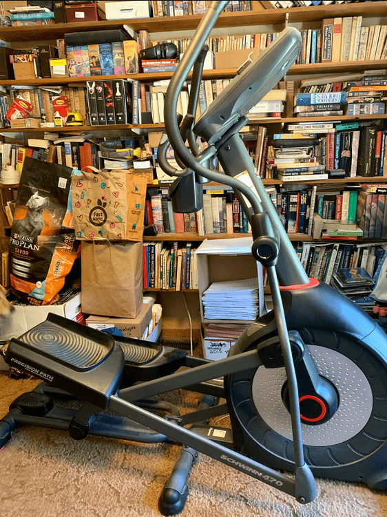 The best bang for your buck when it comes to an exercise machine that will give you a full-body workout is the Schwinn 470