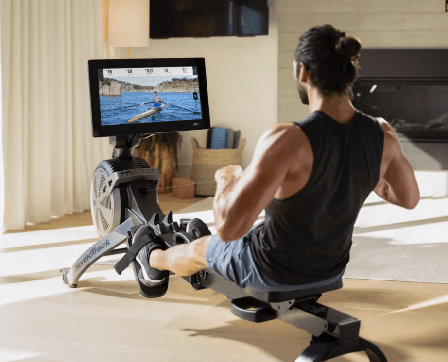 The NordicTrack RW900 is a great workout machine that will give you a full-body exercise from the comfort of your home