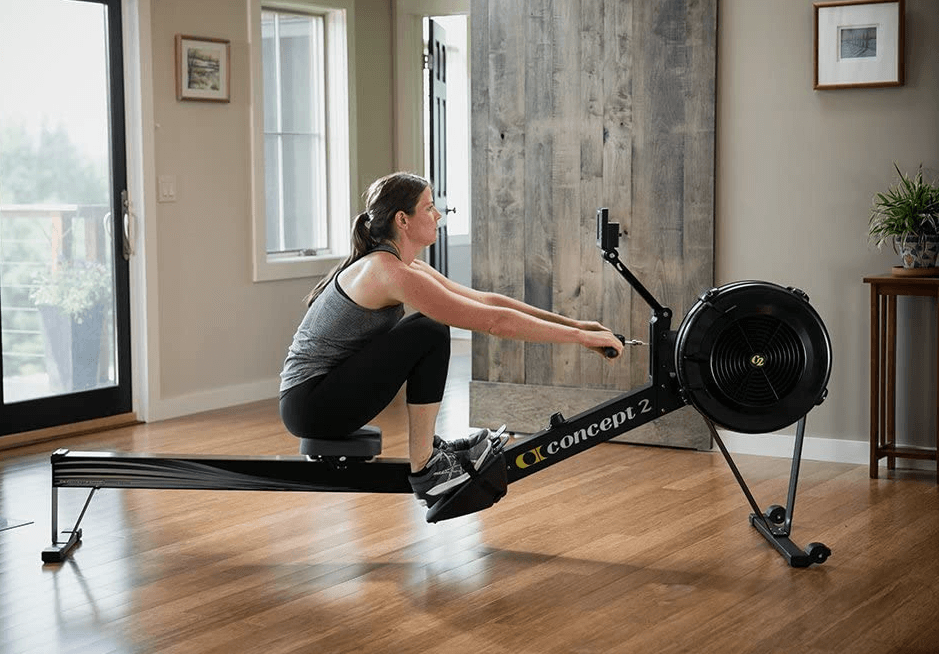 My pick for the best overall cardio full-body workout machine that will help build strength is the Concept2 Model D rower
