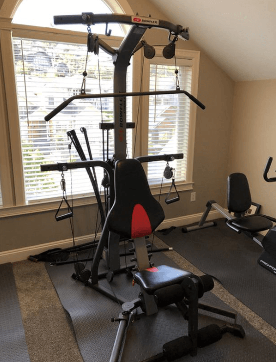 The Bowflex Extreme Home Gym X2SE is my pick for the best total gym that you can get that will give a full-body workout from home