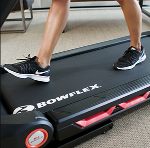 The Bowflex BXT116 comes with the ComfortTech deck cushioning system that is very useful in protecting your joints you joints