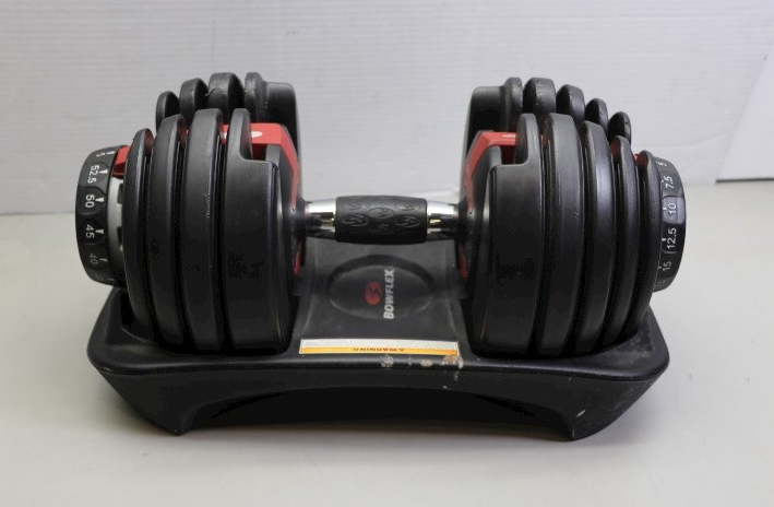 the Bowflex SelectTech 552 is The Most Popular Option on our list for cheap adjustable dumbbells that you can have in your home gym