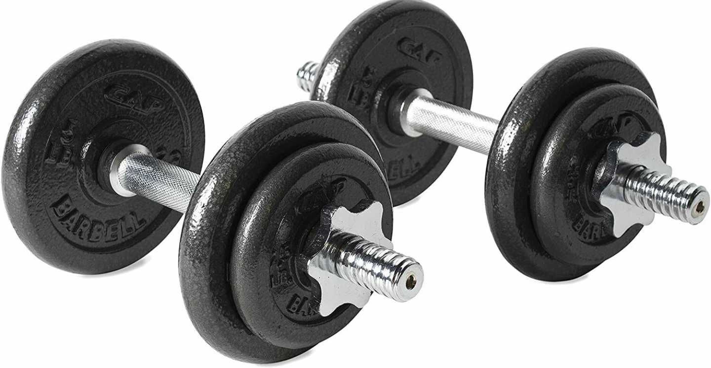 CAP Adjustable Barbell Dumbbells are The Best Affordable Quality adjustable dumbbells that can be a great addition to your home gym