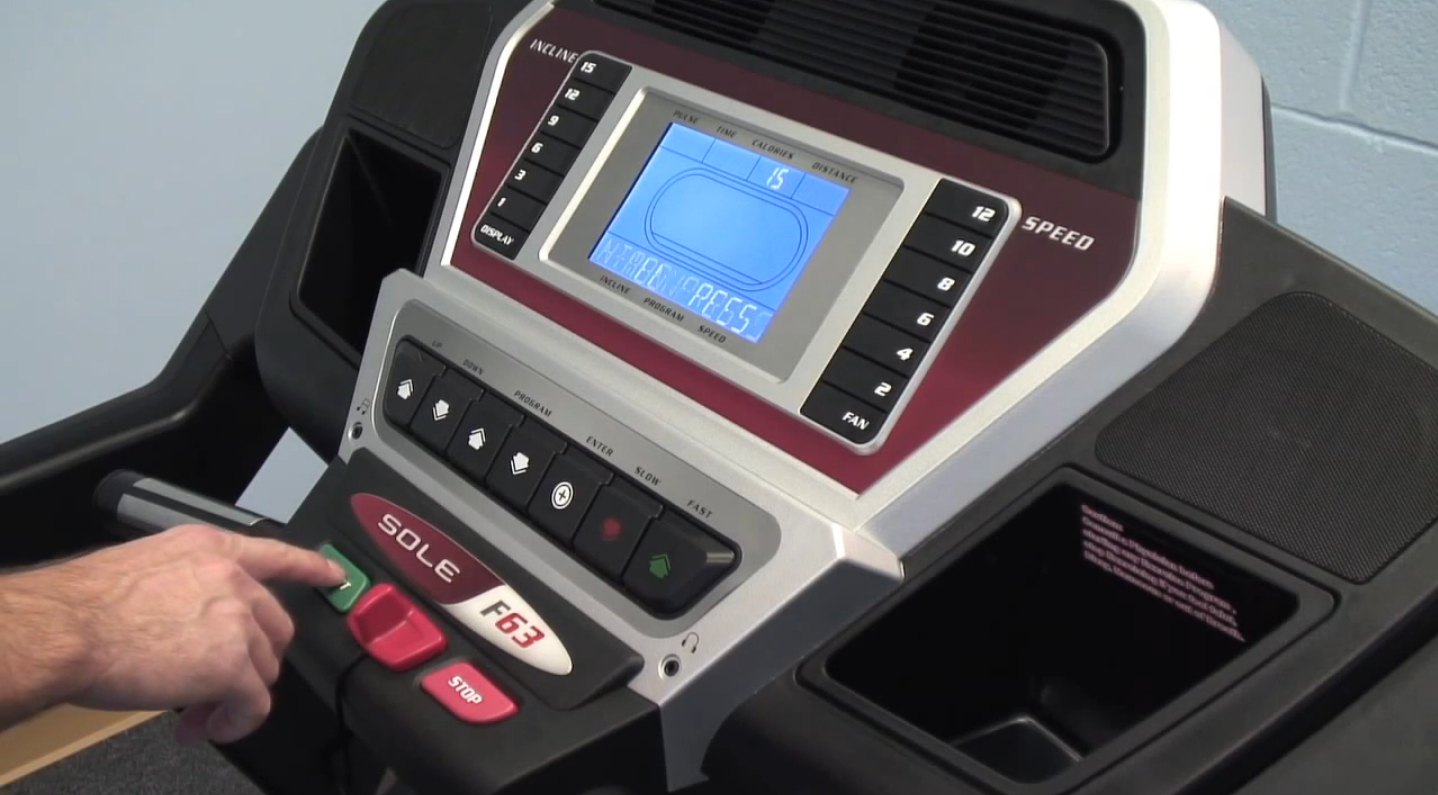 The Sole F63 offers great connectivity and integration with Zwift and also you can play music on the inbuilt speaker system of the treadmill