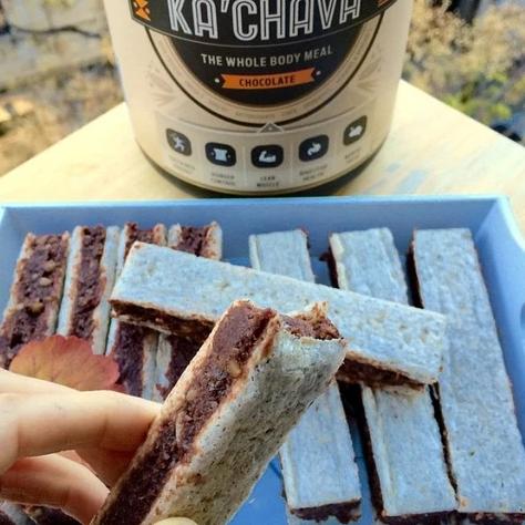 recipe for Ka'Chava Healthy Chocolate Wafers