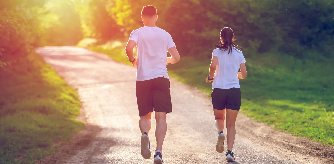 Jogging can help you correct your posture and look taller