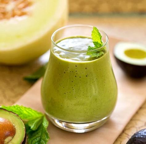 Ka'Chava recipe for Minty Melon Smoothie