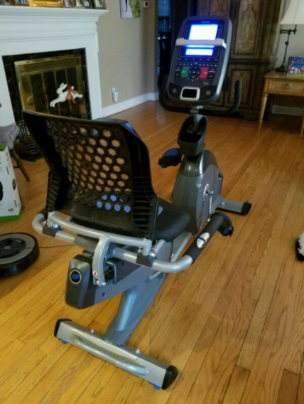 the Nautilus Recumbent bike R618 is a great choice for beginners