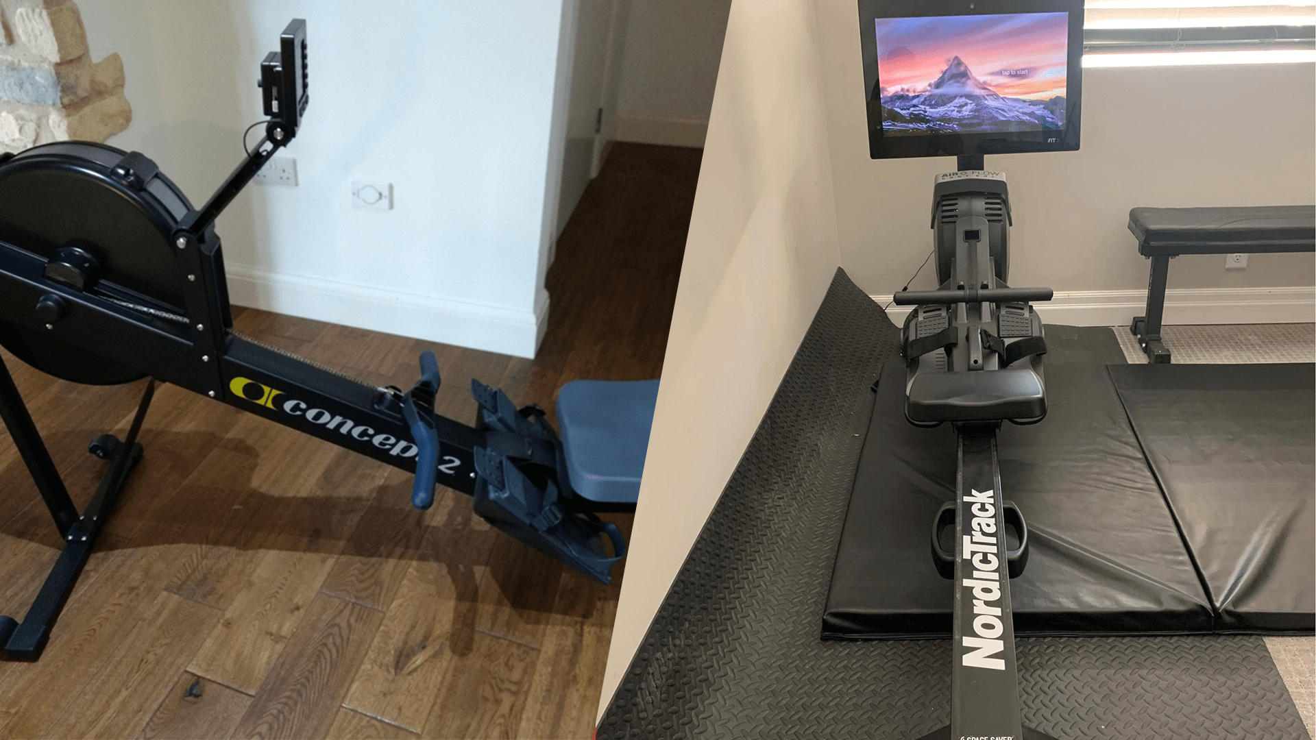 Comparing the NordicTrack RW900 and the Concept 2 Model D