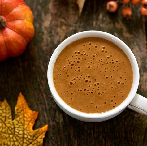 Ka'Chava recipe for Pumpkin Spice Protein Latte