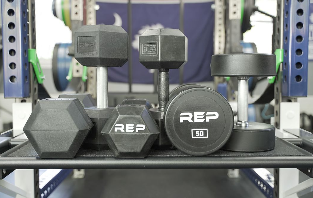 Rep Fitness is our pick for the The Best Bang For Your Buck Fixed Weight Dumbbells that you should have in your home gym