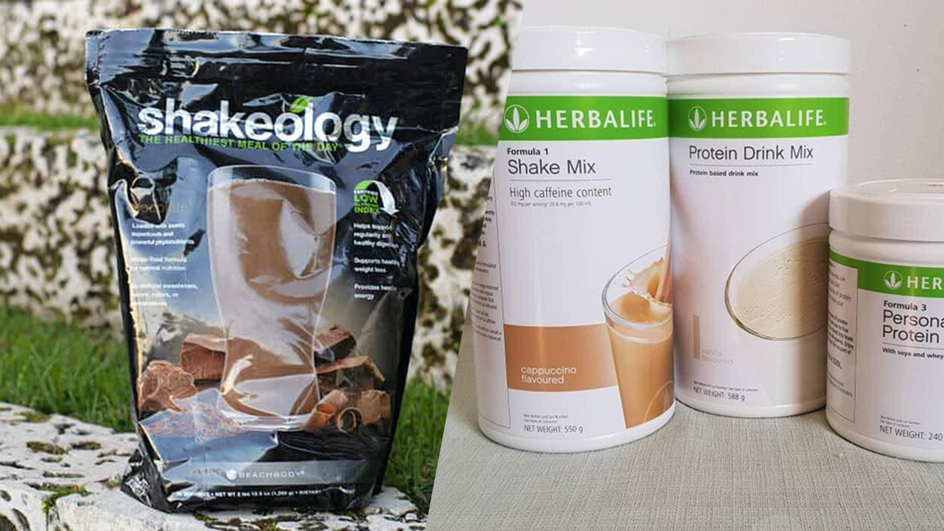 comparing Shakeology and Herbalife, Which is better for what