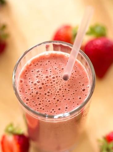 recipe for Strawberry Ka'Chava Shake