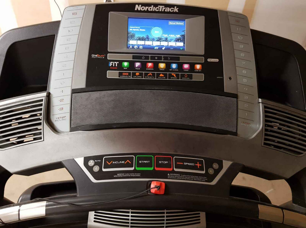 The Nordictrack Commercial 1750 offers a big high-definition screen than can help you track your progress