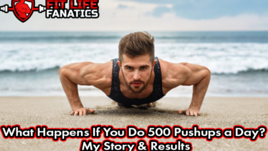 What Happens If You Do 500 Pushups a Day - My Story & Results