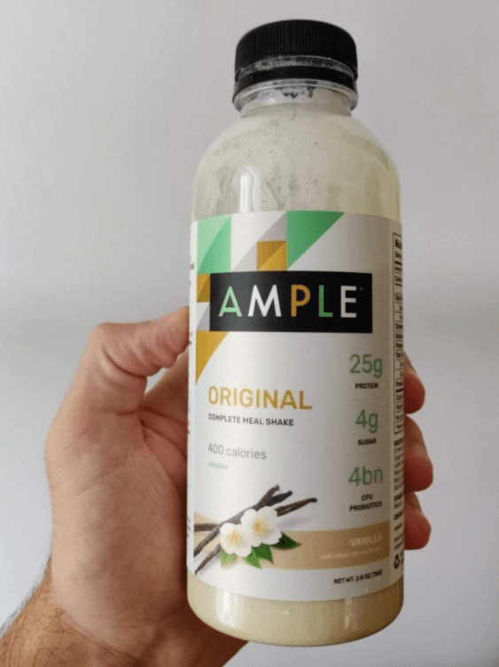 Ample Meal Replacement is best for people who want to have a natural meal replacement