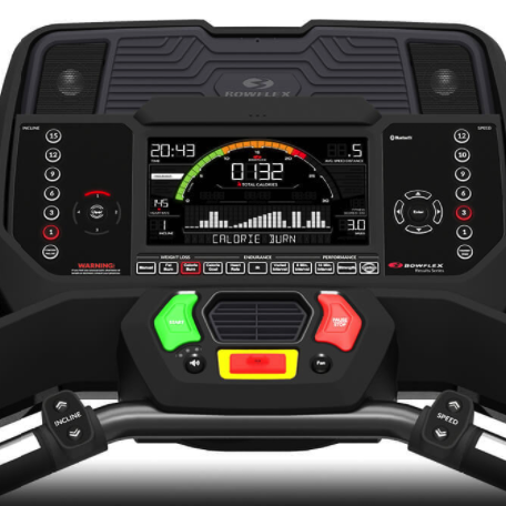 the bowflex bet 216 treadmill screen is one of the best in class. This screen makes it very easy to connect this treadmill to zwift and fully integrate because of how easy the functionality is to use