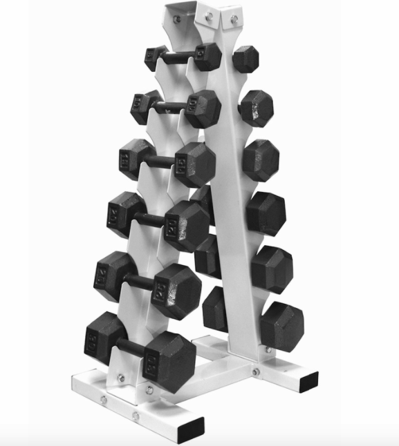 cheap dumbbell rack