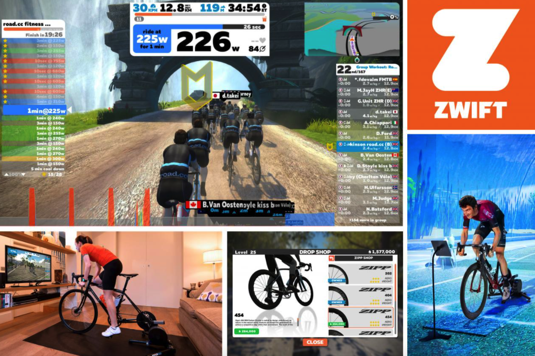 features of zwift
