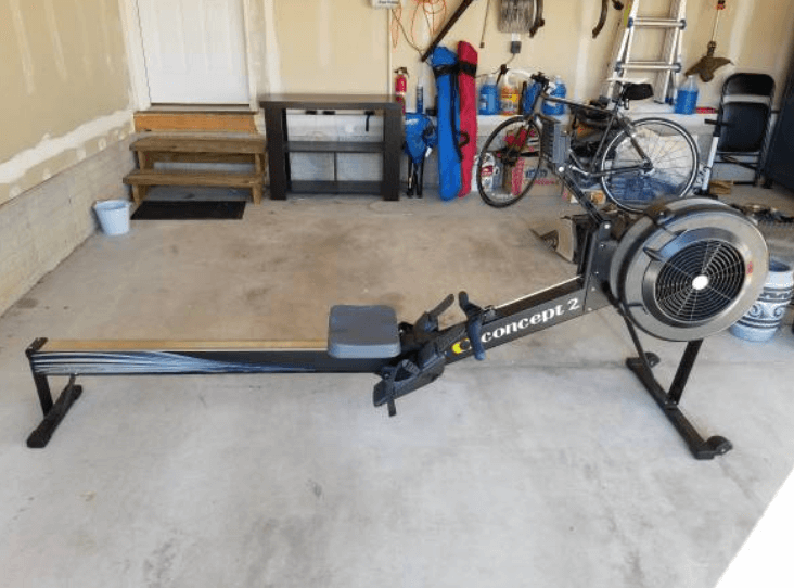 my personal total body workout equipment in my garage gym