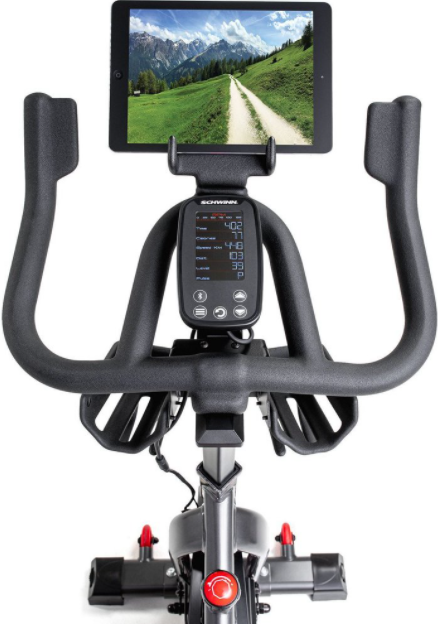 Schwinn IC4 Indoor Cycling Bike can connect to both Peloton live and Zwift