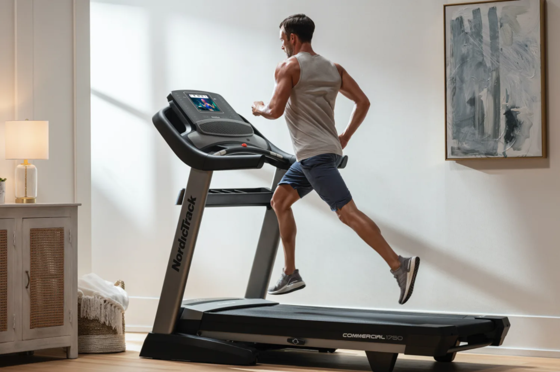 The NordicTrack Commercial 1750 is a great affordable option for a treadmill that gives you all you would need in a modern high-tech treadmill
