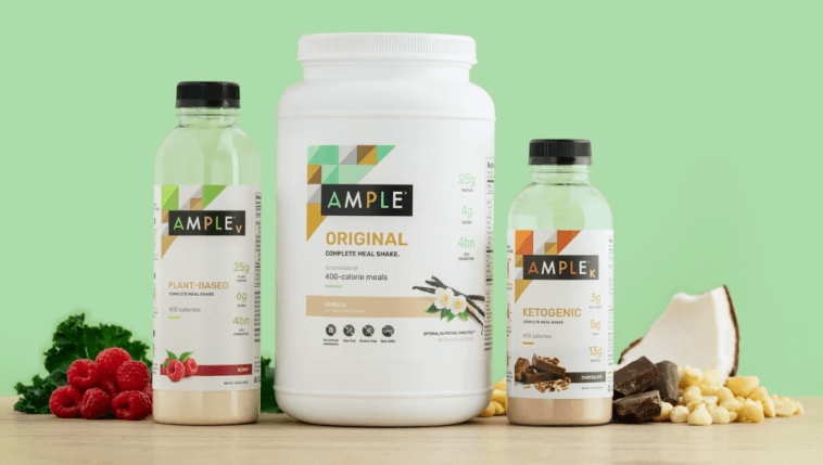 Ample – The Keto Shake a great meal replacement to add to your breakfast
