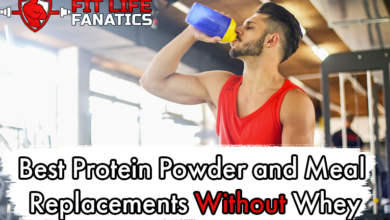 Best Protein Powder and Meal Replacements Without Whey
