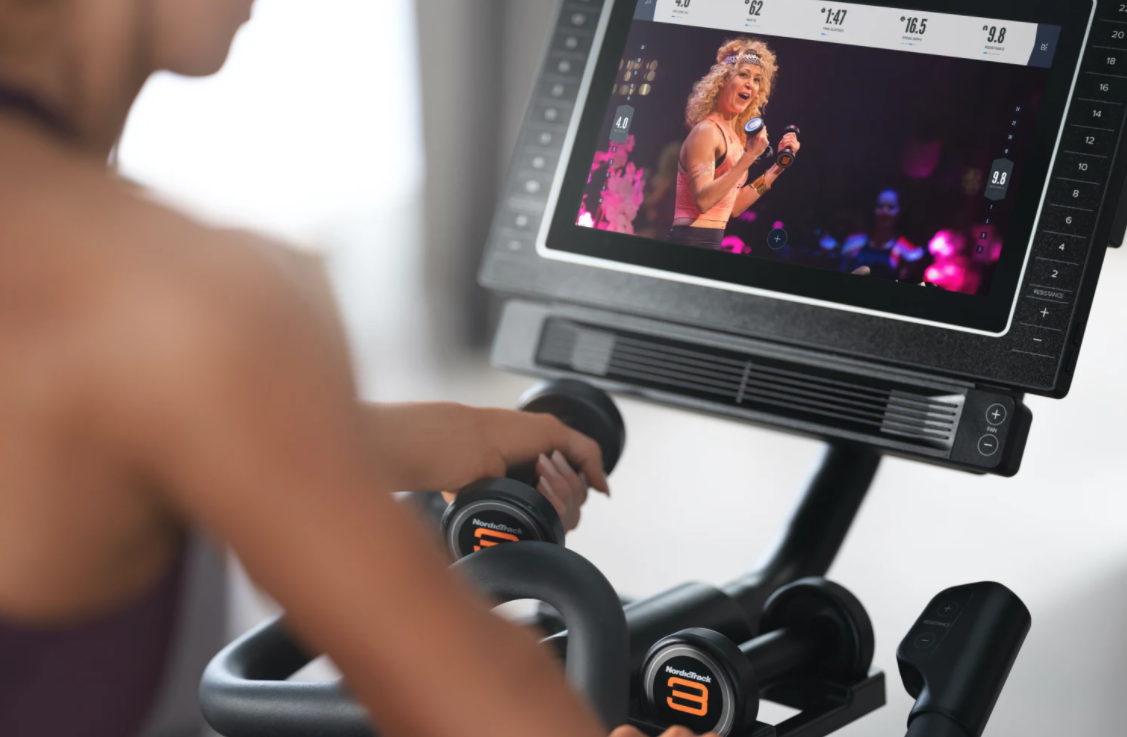 The NordicTrack Commercial S15i comes with iFit which is better than Peloton live