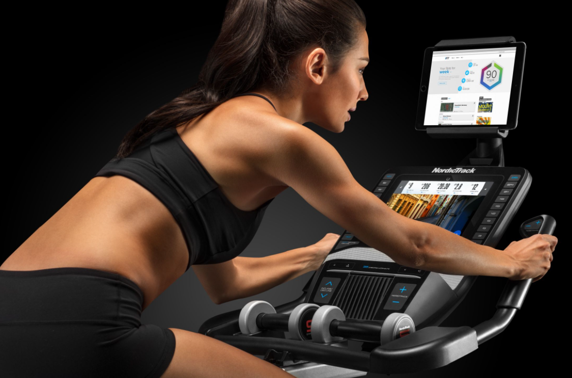 The NordicTrack Grand Tour Bike comes with the iFit App which is better than the Peloton live training class as it offers more features