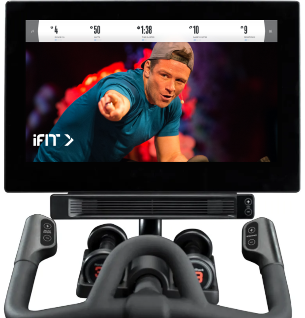 The NordicTrack s22i comes with iFit which is better than Peloton live and offers more features