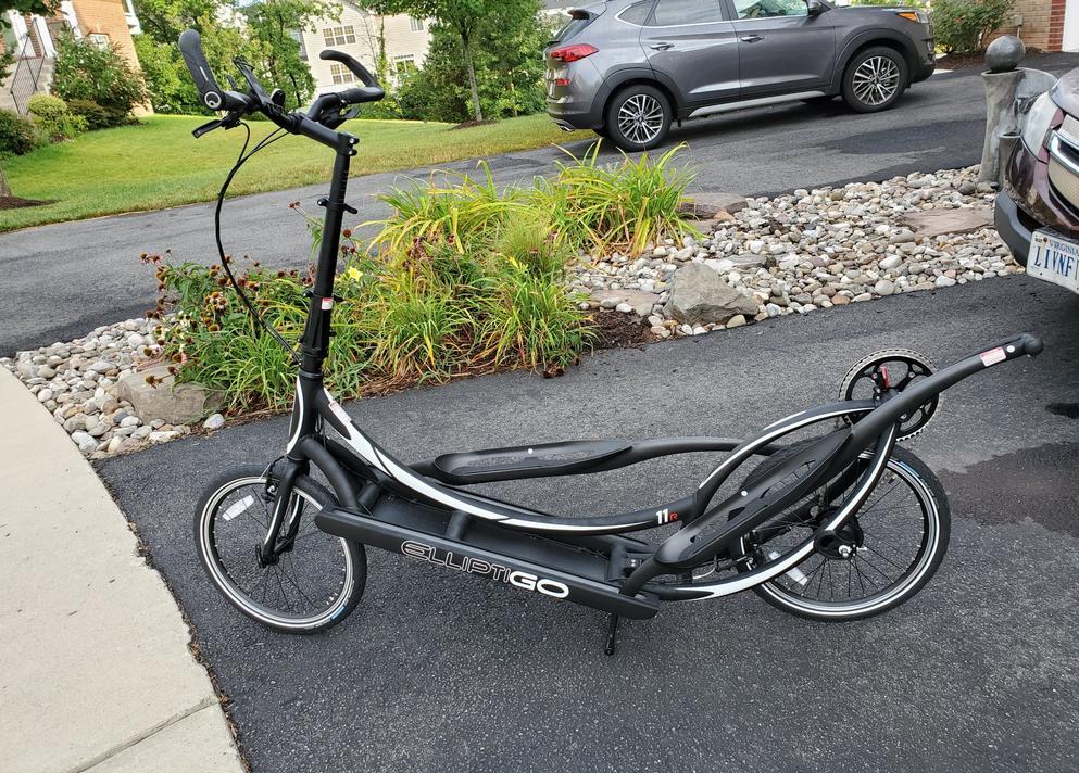 ElliptiGO 11R Elliptical Bike is the most Comfortable outdoor elliptical bike that you can get