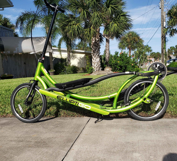 The ElliptiGO 8C Long Stride Outdoor Elliptical Bike is a great option to buy when looking for outdoor Elliptical Bikes