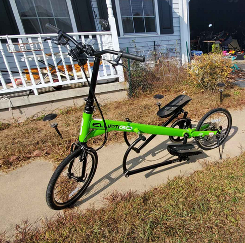 The ElliptiGO Arc 8 Compact Stride Outdoor Elliptical Bike is the best bang for buck option when looking for an outdoor elliptical bike