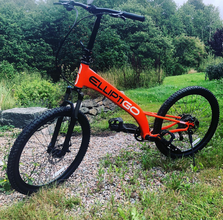 The ElliptiGO MSUB is the best stand up option you can get when looking for outdoor elliptical bikes