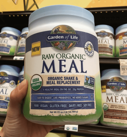 Garden of Life Raw Organic Meal a great option for people looking to consume protein shakes in their breakfast