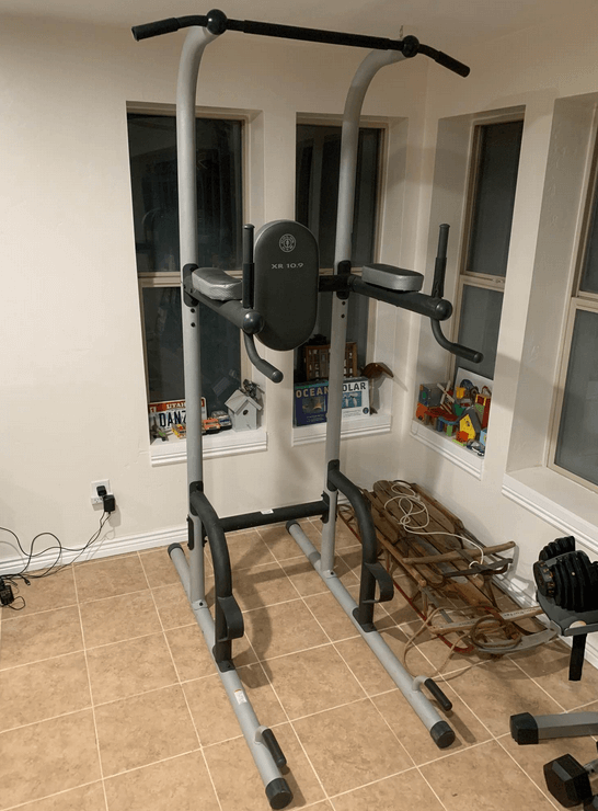 Gold's Gym XR 10.9 Power Tower is the best affordable Power Tower you can get
