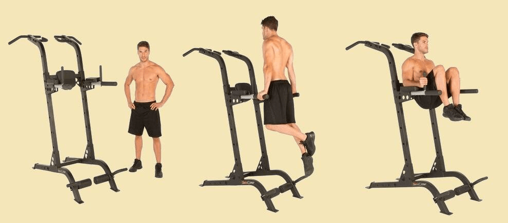 Power Towers are versatile, meaning you can perform a lot of exercises on them