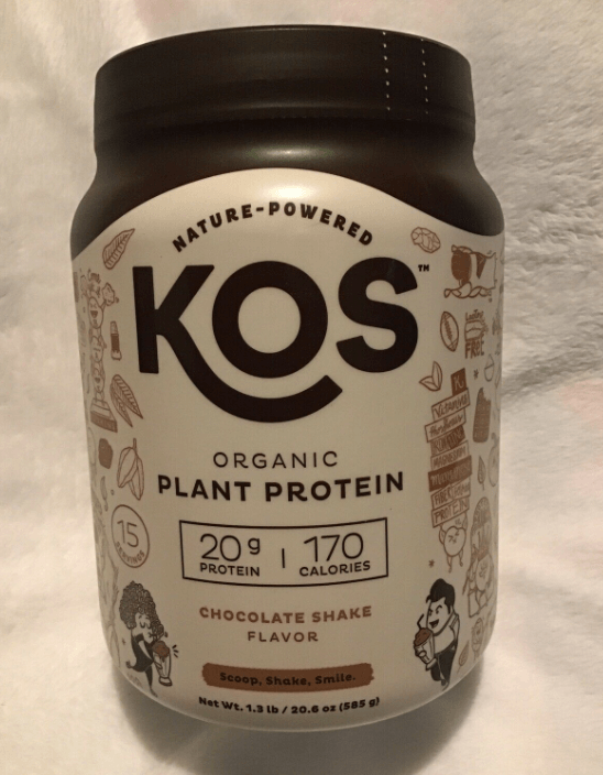 KOS Protein is a great option for a breakfast meal replacement