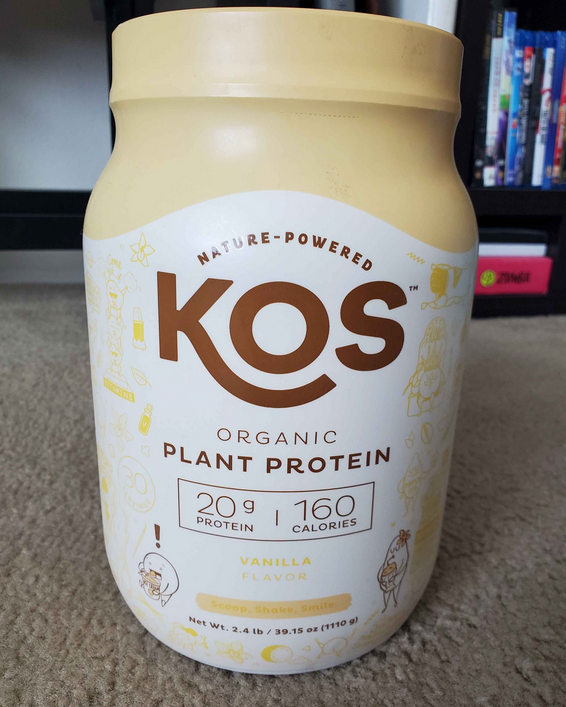 Kos Plant Protein is a great choich for people who are looking for protein powders without whey